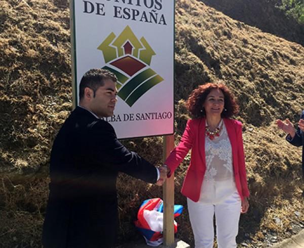 """Peñalba de Santiago destapa su cartel como uno de  """"Los Pueblos más Bonitos de España"""" 10"""
