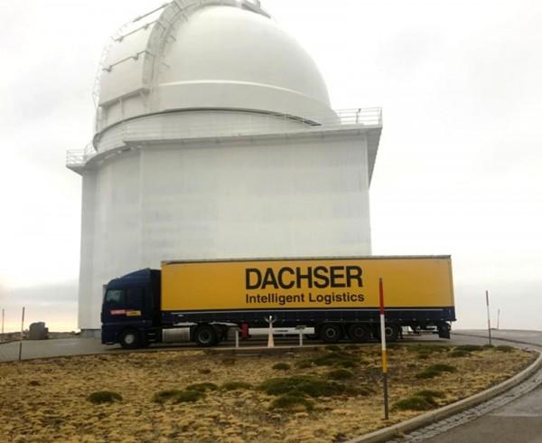 Dachser da plena cobertura logística en el sur de España durante La Vuelta 2017 4
