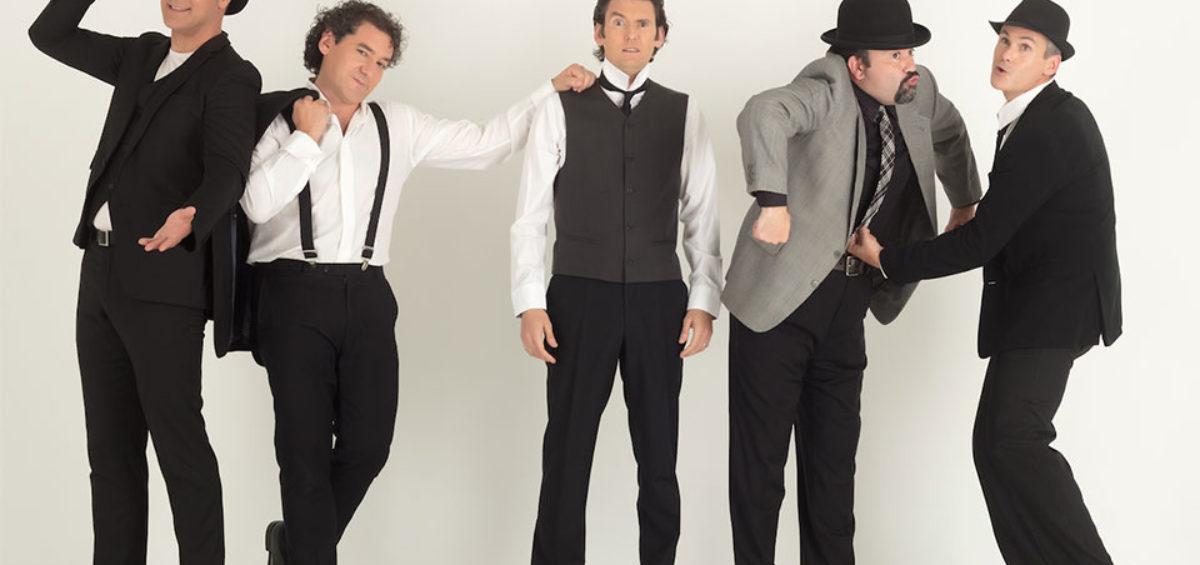 CONVOCATORIA: B Vocal, el grupo español a cappella más internacional, presenta su espectáculo 'Al Natural, sin instrumentos añadidos' 18