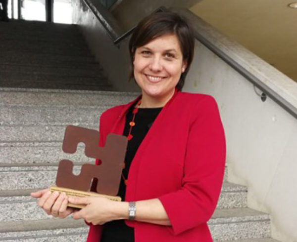 Ruth Benito, de la firma ELZABURU, una de las premiadas por la Agencia Vasca de Protección de Datos 15