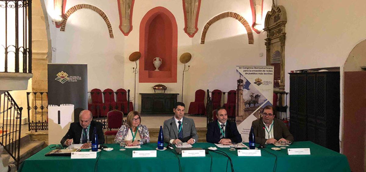 Se inaugura el Ier Congreso Iberoamericano para la creación de redes de pueblos más bonitos 2