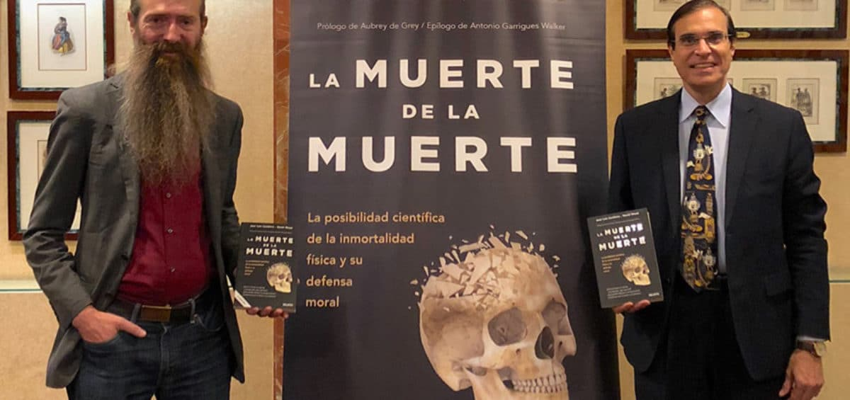 """""""Lo más importante del progreso tecnológico no será solo la posibilidad de vivir más, sino también curar las enfermedades que matan al 90% de la población de España"""", Aubrey de Grey, en su visita a Madrid 13"""