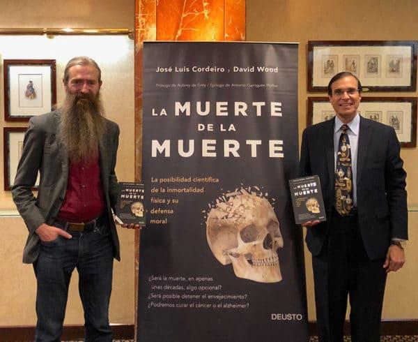 """""""Lo más importante del progreso tecnológico no será solo la posibilidad de vivir más, sino también curar las enfermedades que matan al 90% de la población de España"""", Aubrey de Grey, en su visita a Madrid 12"""