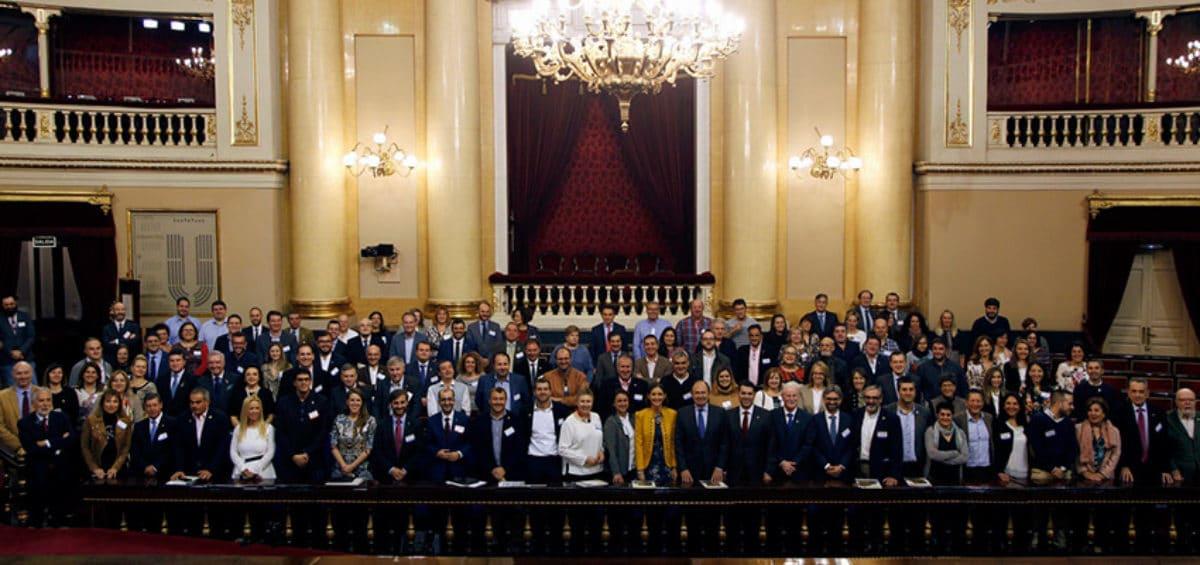 """Éxito de participación en la II Jornada """"Turismo, innovación y medio ambiente en la España rural"""" realizada por Los Pueblos más Bonitos de España en el Senado 10"""