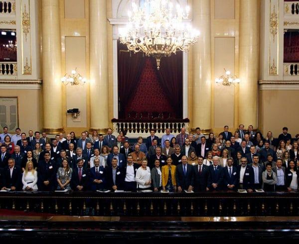 """Éxito de participación en la II Jornada """"Turismo, innovación y medio ambiente en la España rural"""" realizada por Los Pueblos más Bonitos de España en el Senado 8"""