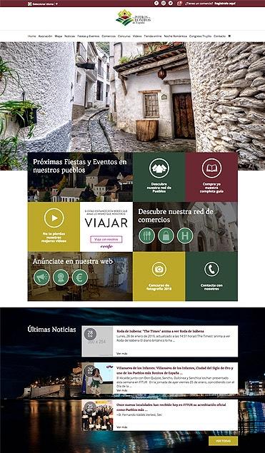 diseño web para los pueblos más bonitos de España