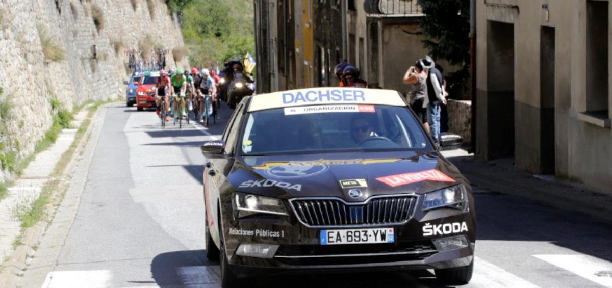 Dachser tiñe de amarillo las salidas de etapa de La Vuelta 2019 como Logística Oficial por 11º año consecutivo 6