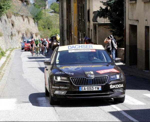 Dachser tiñe de amarillo las salidas de etapa de La Vuelta 2019 como Logística Oficial por 11º año consecutivo 2