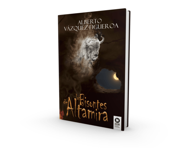 Los bisontes de Altamira: la nueva novela de Alberto Vázquez-Figueroa:  un viaje atrás en el tiempo a través del talento humano, la creatividad y el primer vestigio artístico de la historia 4