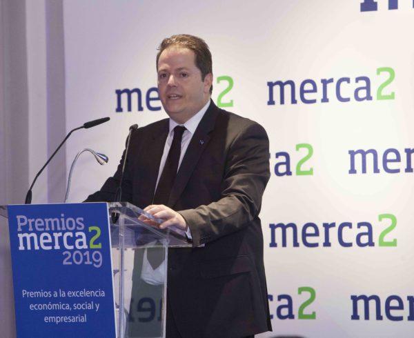 El diario digital Merca2 ha entregado la segunda edición de sus Premios a la excelencia económica, social y empresarial 8