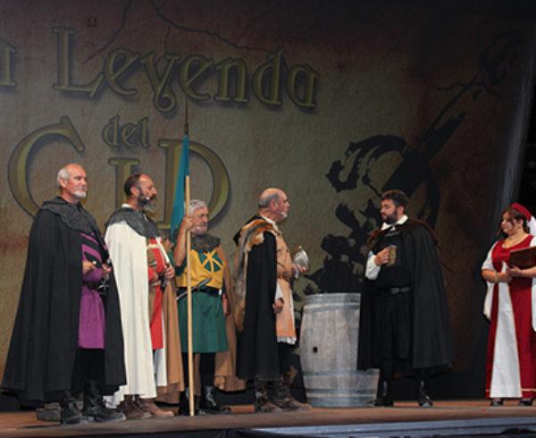 Gran éxito en las V Jornadas Cidianas de Huerta de Rey (Burgos) 10