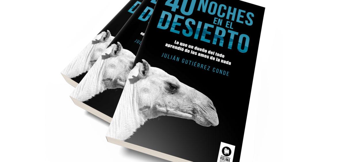 Se presenta 40 noches en el desierto, un poderoso libro con reflexiones sobre la vida y los valores 14