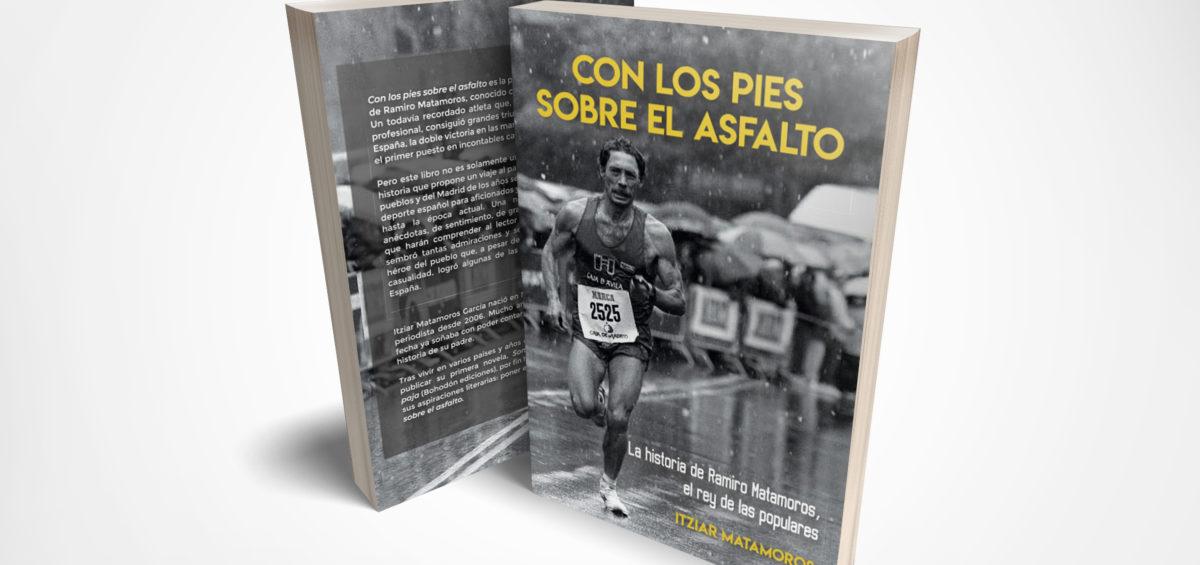 Se presenta el libro Con los pies sobre el asfalto, una novela que narra la vida del atleta Ramiro Matamoros 12