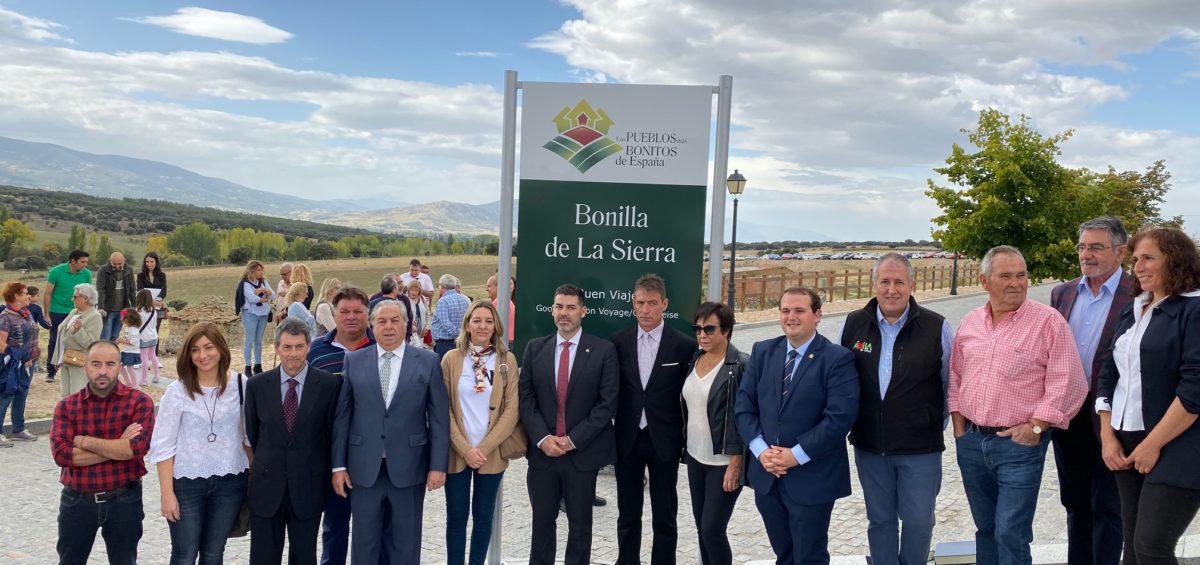 Bonilla de la Sierra, destapa su cartel que le acredita como Uno de Los Pueblos más Bonitos de España 18
