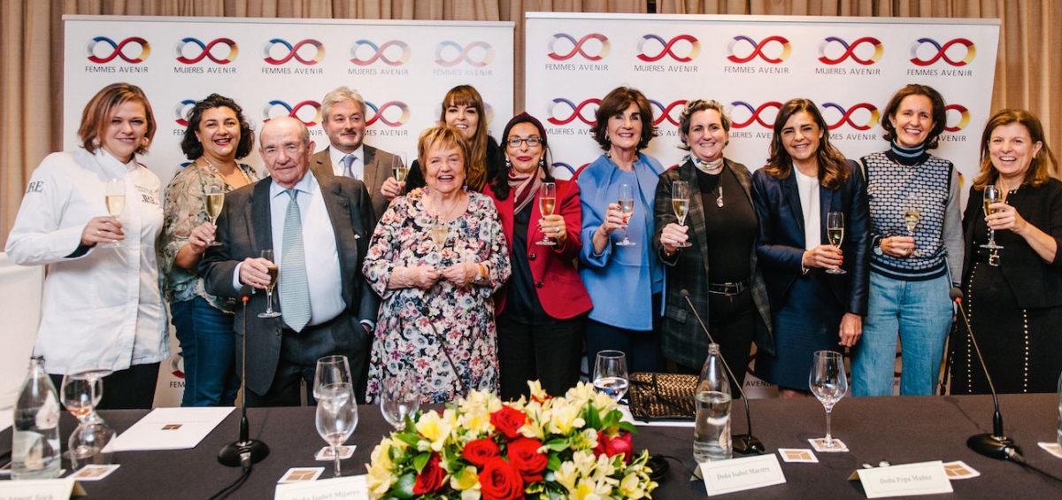 La asociación Mujeres Avenir reclama el protagonismo que merece la mujer en la Alta Gastronomía 9
