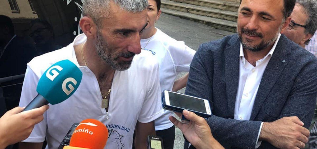 Marín – Guadalajara: 800 kilómetros en bicicleta para visibilizar las EII 18