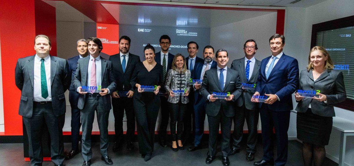 """Merca2 entrega la I edición de sus premios """"Excelencia en los mercados financieros 2019"""" 6"""
