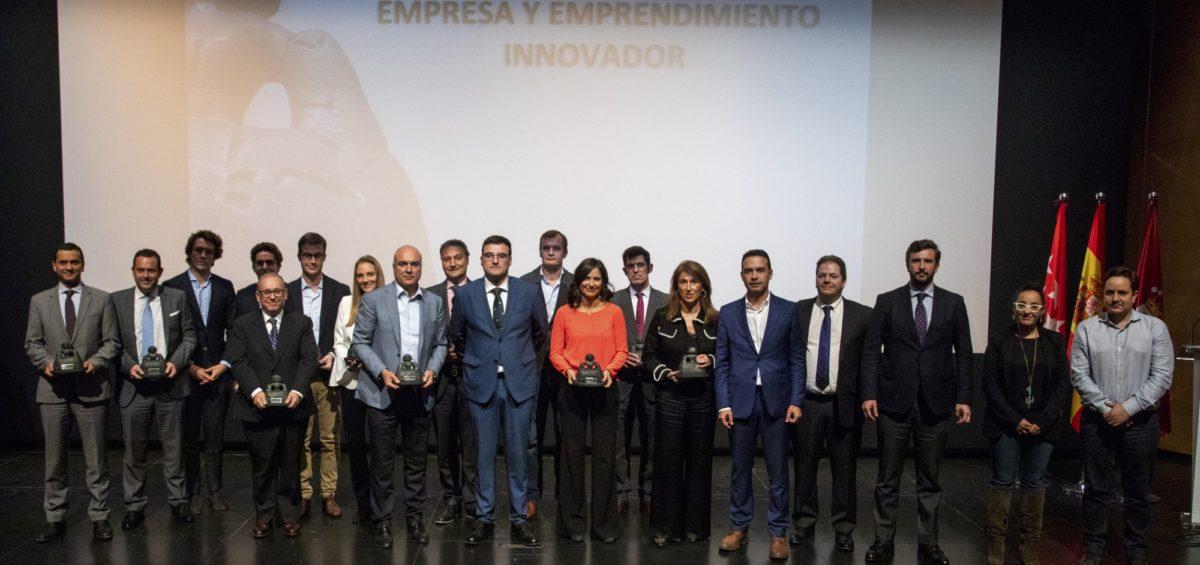 """Alcobendas entrega los premios """"Empresa y Emprendimiento Innovador"""" y aspira a convertirse la segunda ciudad de España por facturación 8"""