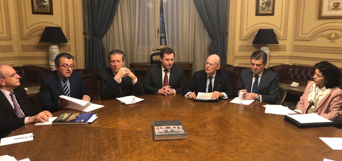 La Asociación para la Difusión y Promoción del Patrimonio Mundial de España, ADIPROPE, ha mantenido la Reunión de su Consejo Asesor en el Casino de Madrid. 4