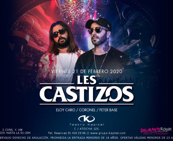 Teatro Kapital presenta la sesión de Les Castizos  y el nuevo single de Chema Rivas para este fin de semana 12