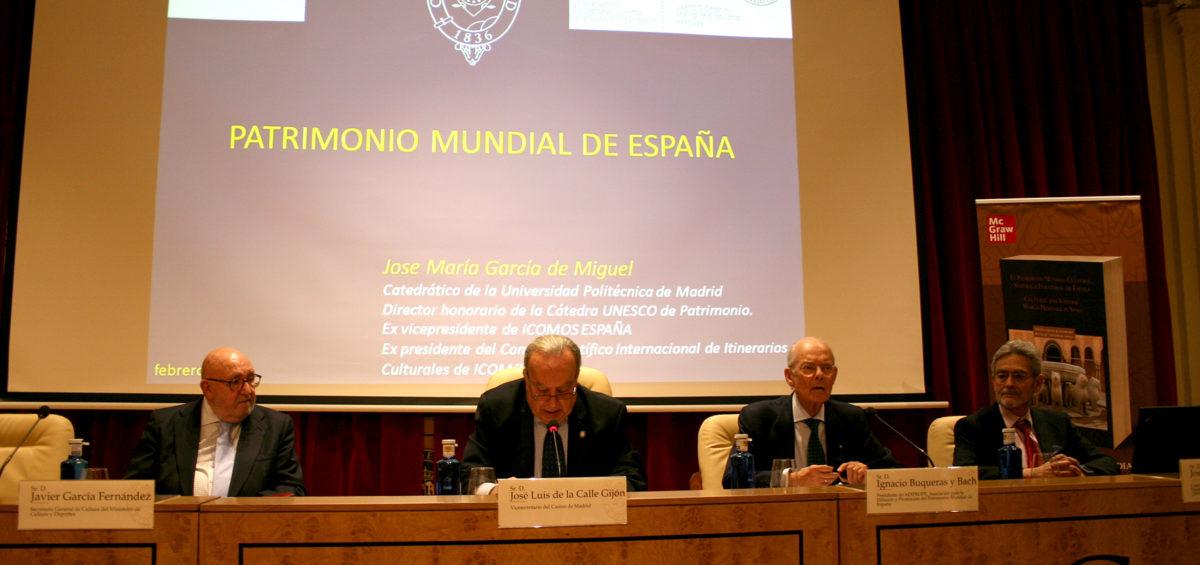 Ignacio Buqueras, Presidente de ADIPROPE inaugura el FORO PATRIMONIO MUNDIAL  DE ESPAÑA 6