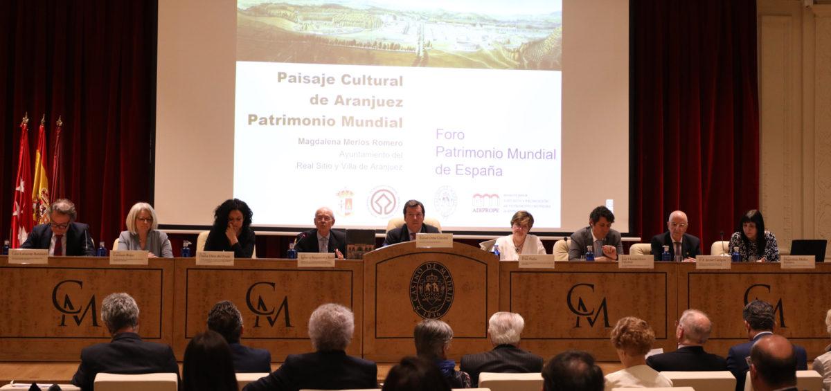 El FORO PATRIMONIO MUNDIAL DE ESPAÑA, acerca los lugares Patrimonio de la Humanidad en la Comunidad de Madrid 2