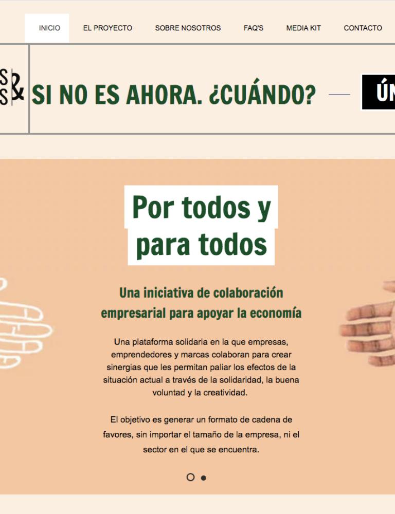 Llega la iniciativa #PorTodosyParaTodos para apoyar la economía frente a la crisis 4