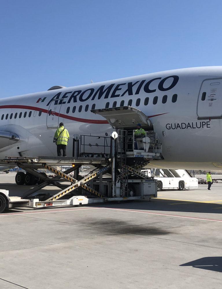 Dachser transporta más de 3 millones de mascarillas desde México 2