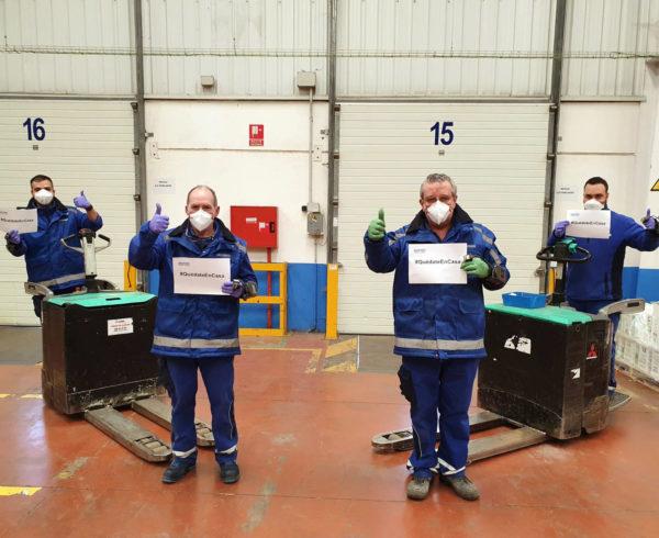 Dachser trabaja junto al Gobierno Vasco en la lucha contra el Coronavirus 8