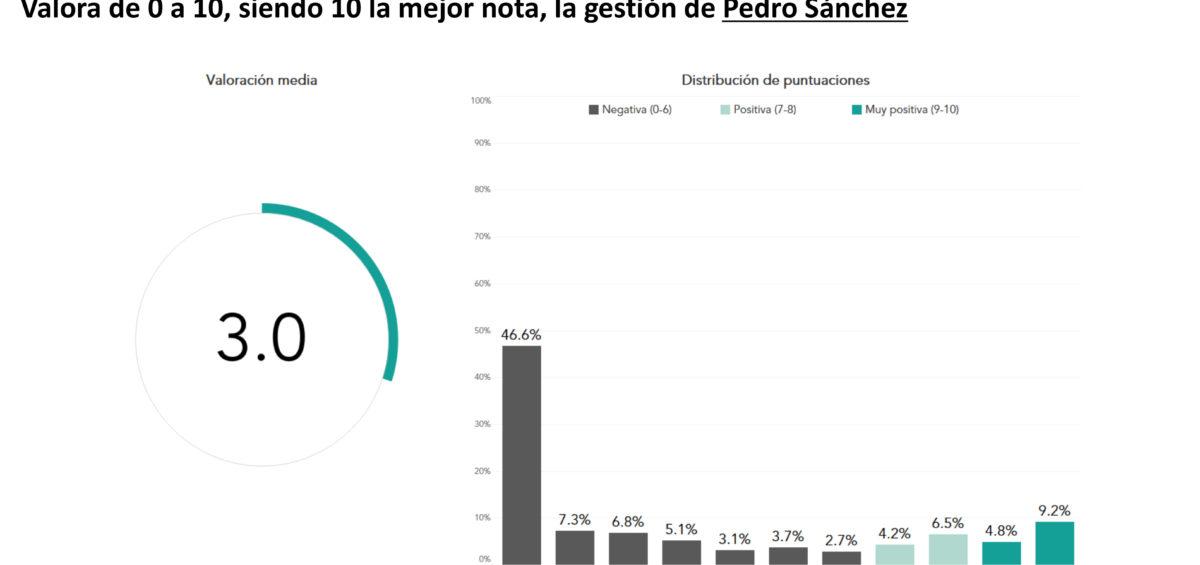Los españoles suspenden al Gobierno de España en su gestión en la crisis del Covid-19 14