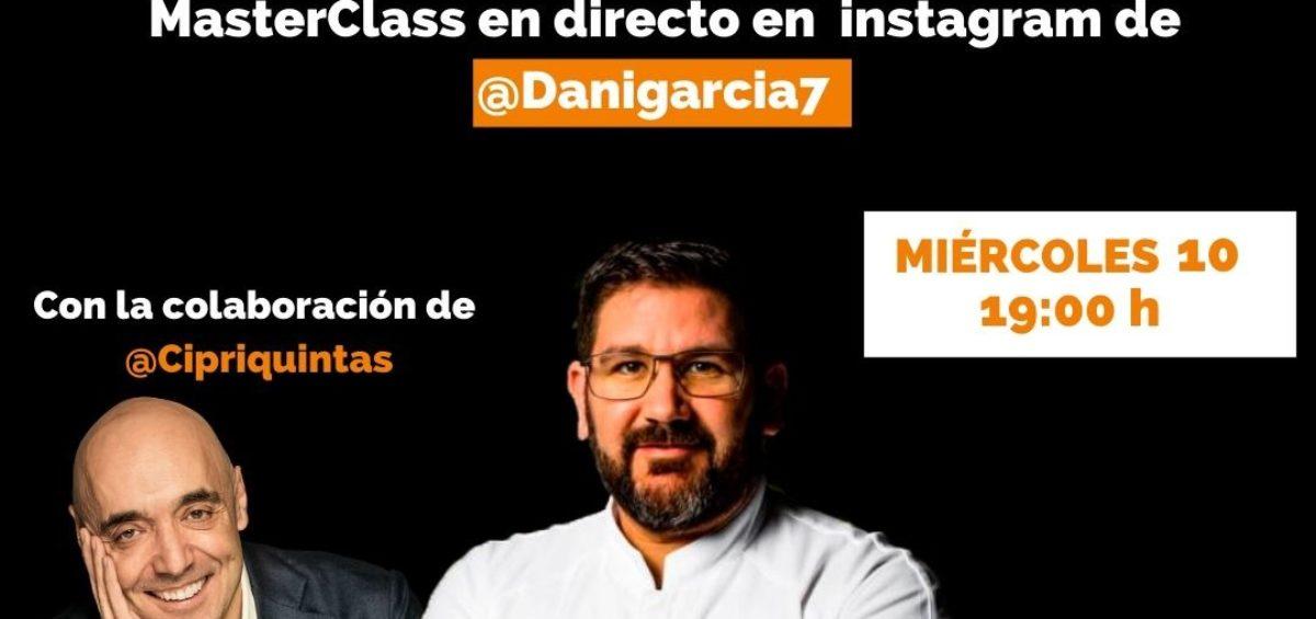 El chef Dani García y el empresario solidario Cipri Quintas se unen al reto #NingunaDespensaVacía: una acción para ayudar en la crisis del Covid-19 8