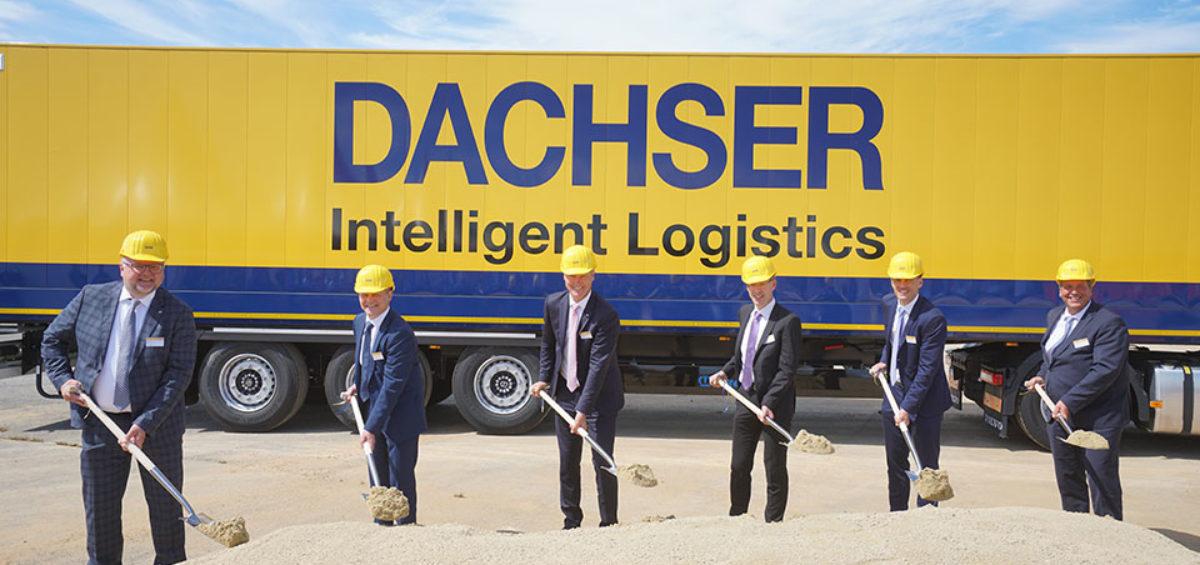 Dachser avanza con la construcción de un nuevo centro de transporte en Kassel, Alemania 2