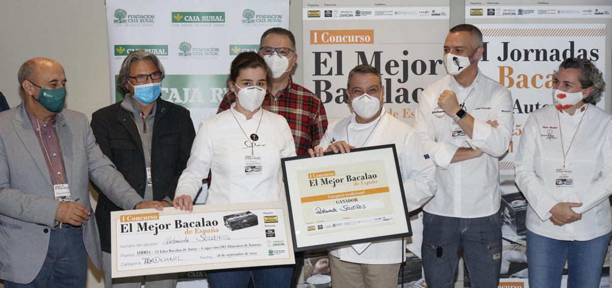 """Los restaurantes Peix i Brases y Solleiros se alzan con los primeros premios del I concurso """"El Mejor Bacalao de España"""" 2"""