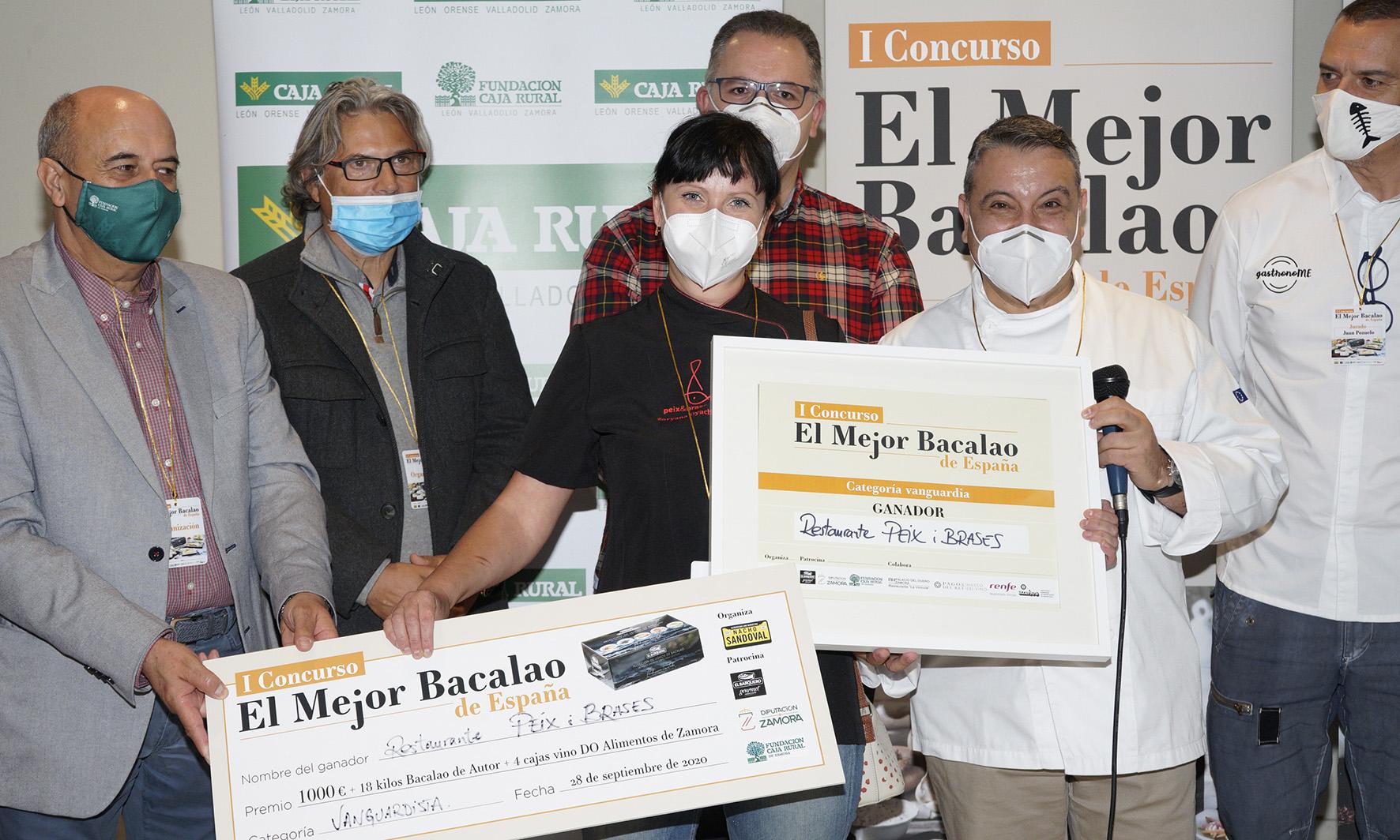 """Los restaurantes Peix i Brases y Solleiros se alzan con los primeros premios del I concurso """"El Mejor Bacalao de España"""" 3"""