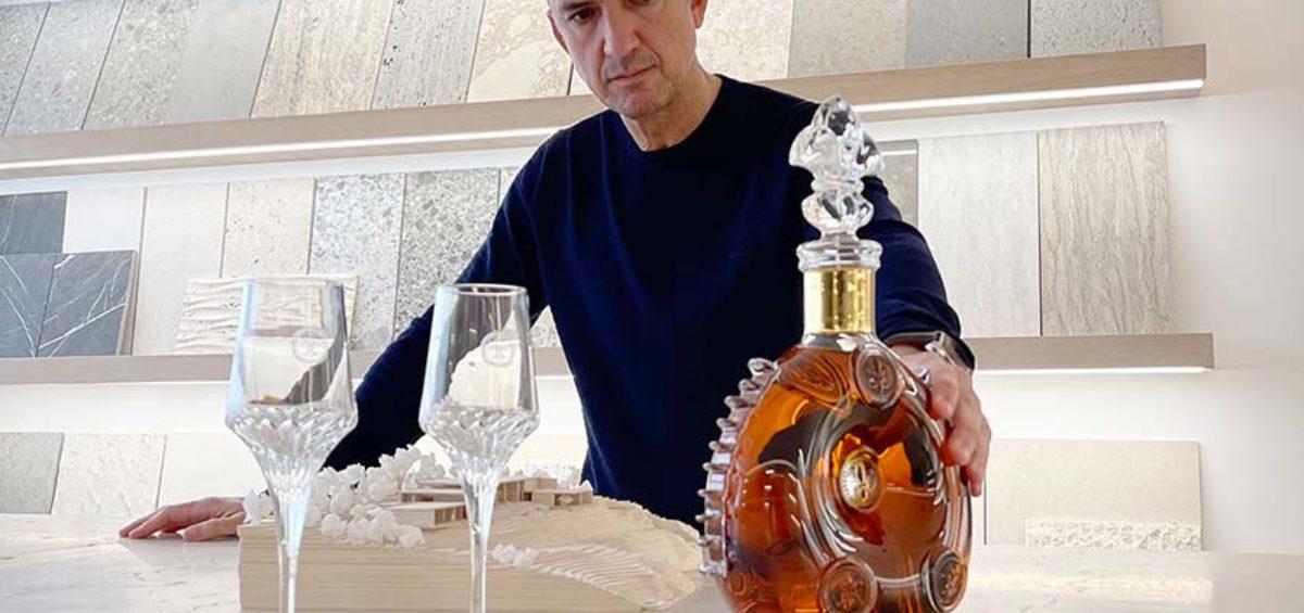 botella del cognac LOUIS XIII