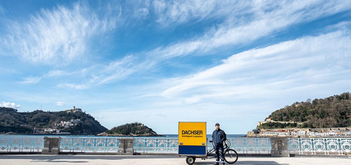 Dachser realiza entregas libres de emisiones con bicicletas eléctricas de carga en el centro urbano de San Sebastián 4