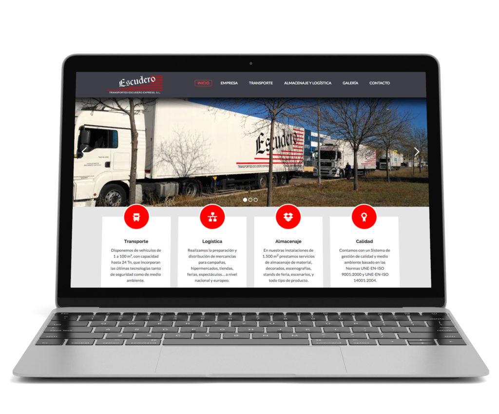 Páginas web para logística