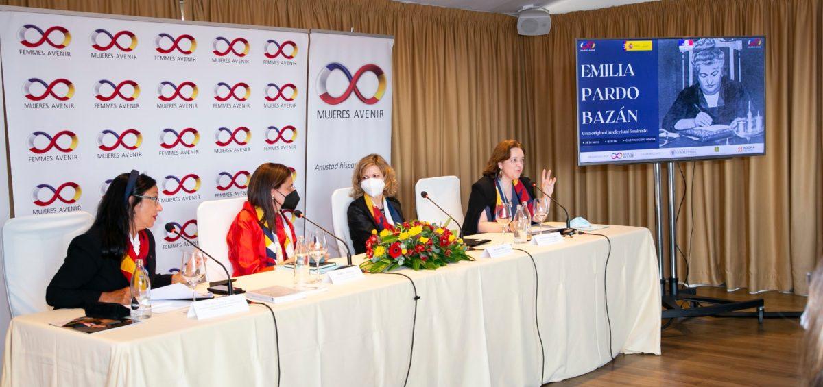 Mujeres Avenir homenajea a 'Emilia Pardo Bazán' por su influencia decisiva en la lucha intelectual feminista y por su vinculación y admiración por Francia 8
