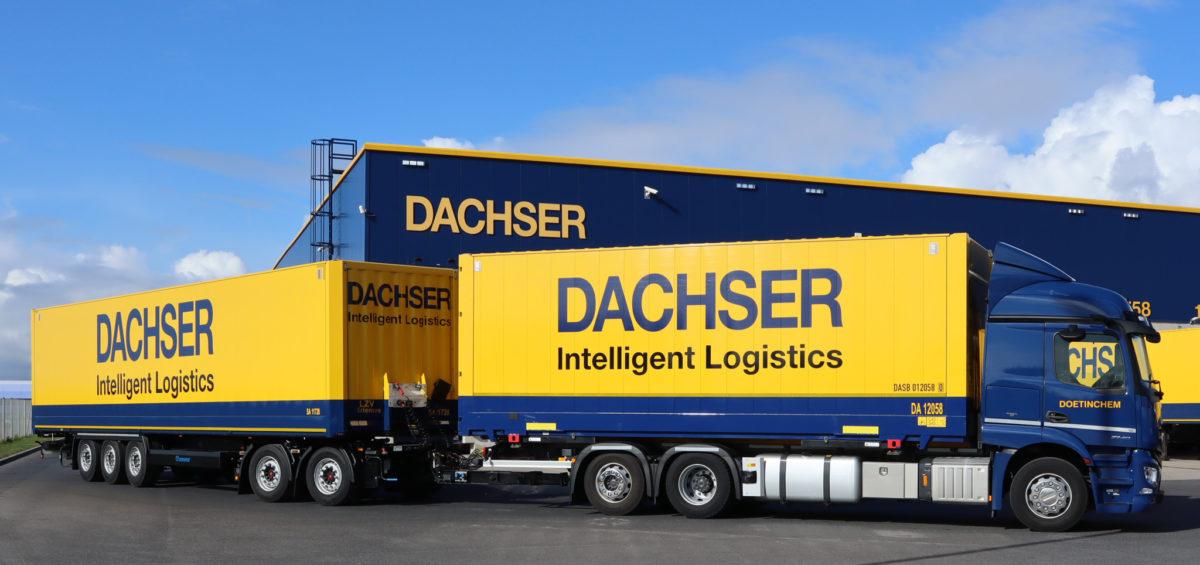 Dachser refuerza su flota de larga distancia con el eco-combi 8