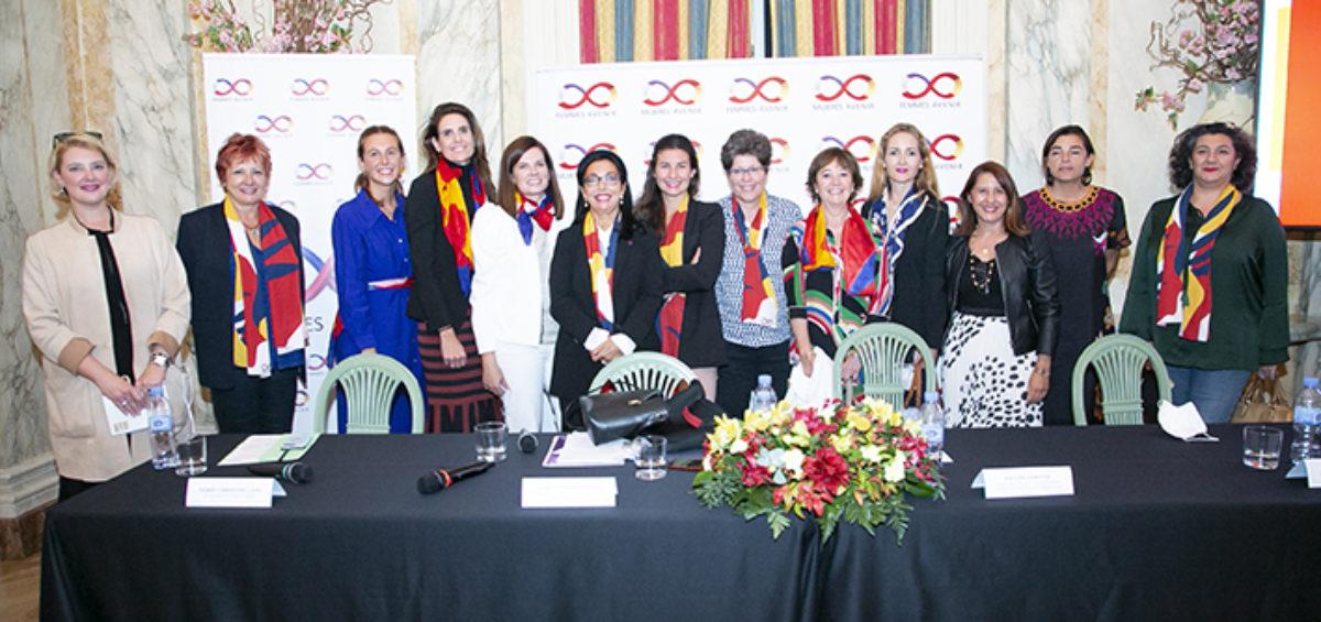 Fomentar la visibilidad y el empoderamiento de la mujer en todos los sectores sociales -económicos, culturales- de España y Francia, en base a la visión de igualdad de la Carta de las Naciones Unidas. 2