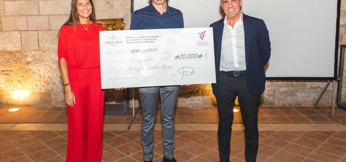 Wine Luthier se alza con el Premio a la Innovación de Bodegas Emilio Moro y dibujará el sabor de sus vinos 2