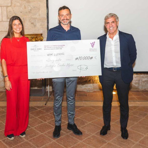 Wine Luthier se alza con el Premio a la Innovación de Bodegas Emilio Moro y dibujará el sabor de sus vinos 1